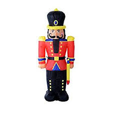 6 nutcracker soldier led lighted outdoor air