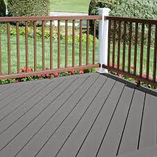 shop style selections natural grey ultra low maintenance composite