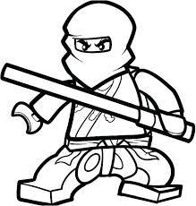 Ninjago Coloriages Gratuit Imprimable A Lord Dessin Ninjago A