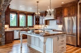 wood cabinets kitchen design mountain home kitchen design fraser valley colorado jm