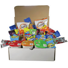 college gift baskets level up box 38 pack munchies snack gift