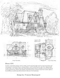 storybook cottage floor plans 5609