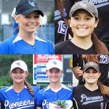 Five Pioneer Softball Players Named To 18 Member L L All League Team