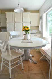 kitchen chalk paint dining table makeover little gallery with