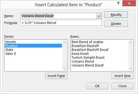 How To Remove Pivot Table How To Remove Calculated Fields And Items From An Excel Pivot