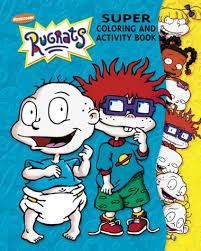 Rugrats Super Coloring Activity Book 2 Golden Books