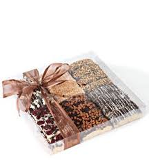gourmet chocolate gift baskets deluxe classic gourmet chocolate biscotti gift basket