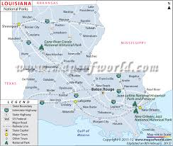 Louisiana national parks images Louisiana national parks map jpg