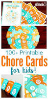 best 25 printable chore cards ideas on pinterest chore cards