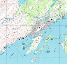 Southeast Alaska Map by