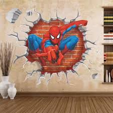 Wall Stickers For Kids Rooms by Top 25 Best Spiderman Wall Decals Ideas On Pinterest Batman