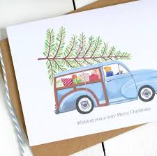 personalised classic car card by kimberley studio