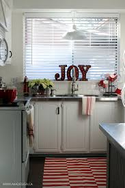 Red And White Kitchen Ideas A Vintage Style Red And White Christmas Kitchen Free Printables