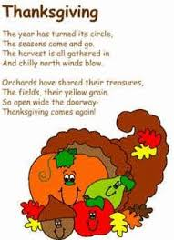 thanksgiving poem scarecrows thanksgiving