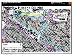 Map Of Marigny New Orleans by Ncptt Maps And Lists Katrina Rita
