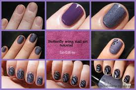 butterfly nail design tutorial nail tutorial lovely butterfly art