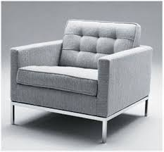 Sofa And Armchair Florence Knoll Armchair Sofa With Leather And Stainless St Id