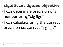 Calculations Significant Figures Worksheet Answers Significant Figures In Measurements And Calculations Ppt