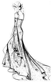 Robe dentelle chantilly  Mode vêtements et bijoux  Coloriages