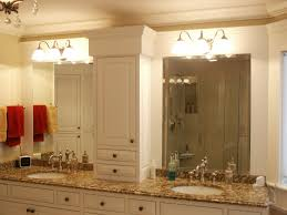 Frames For Bathroom Mirrors Lowes Also Light Brown Wooden Frame Wall Mirror Two Pendant L Smart