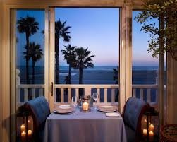 santa monica restaurants luxury hotel beachfront dining