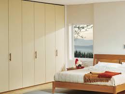 modular wardrobe with wooden handles for bedrooms idfdesign