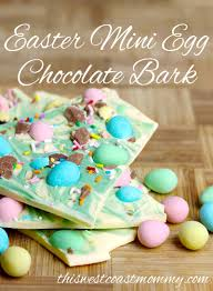 Easter Chocolate Easter Mini Egg Chocolate Bark This West Coast Mommy