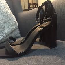 Kasut Zalora zalora heels in black fesyen wanita kasut di carousell