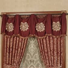 palatial wide swag valance window treatment
