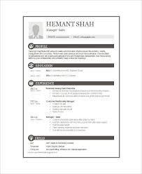 Mba Resume Examples by 16 One Page Resume Templates Free U0026 Premium Templates