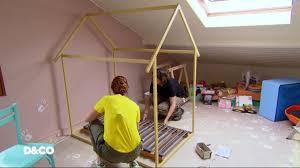 comment faire une cabane dans sa chambre d co comment fabriquer un lit cabane 25 02 2017 6play