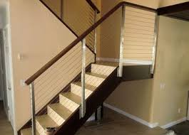 home interior railings 9 best interior cable railing systems images on