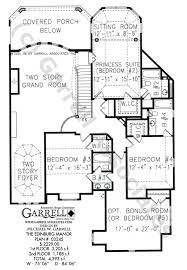 edinburg manor house plan house plans by garrell associates inc