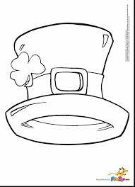 amazing st patricks day coloring page with shamrock coloring page
