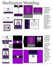 nightmare before christmas wedding invitations purple and black nightmare before christmas invitation by