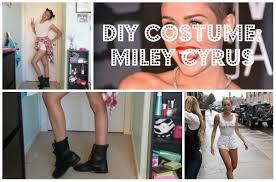 Miley Cyrus Halloween Costumes Quick U0026easy Diy Miley Cyrus Costume