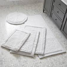 Cotton Reversible Bathroom Rug Shop Ultra Spa White Bath Rugs Treat Your To The Plush