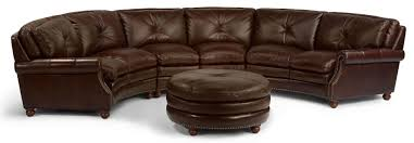 Holmwood Furniture Somersworth Nh by Flexsteel Latitudes Suffolk Round Sectional Sofa With Nailhead