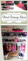 kids and nursery closet organization ideas