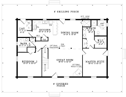 one story cabin plans gallery for simple one story 2 bedroom house plans tiny house