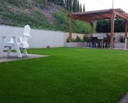 Turf For Backyard by Home Cali Green Turf