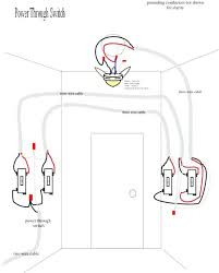 how to wire a ceiling fan with 2 switches wire a light switch light switch wiring diagram wire two lights with