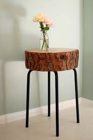 How To Make A Wood Stump End Table by 10 Best Diy Tree Stump Projects