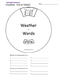 weather related activities at enchantedlearning com