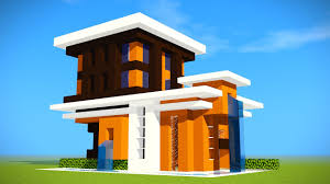 minecraft survival starter house tutorial how to build a modern