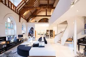 Loft In A House by Historic Church Converted Into A Contemporary Open Loft In London