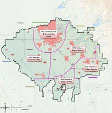 Map Of Fresno Kings Basin Dac Pilot Study U2013 Kings Basin Water Authority