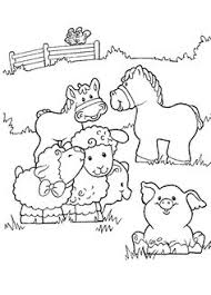 baby farm animal coloring pages wecoloringpage pinterest
