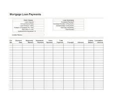 Amortization Calculator Excel Template 28 Tables To Calculate Loan Amortization Schedule Excel Free