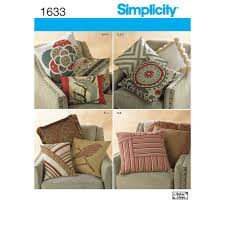 Sewing Patterns Home Decor Pattern For Decorative Pillows Simplicity